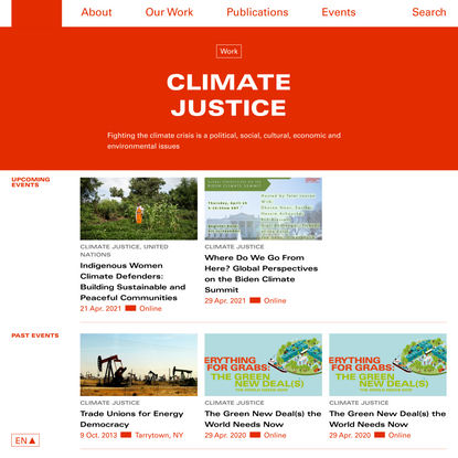 Climate Justice Archives - RLS-NYC