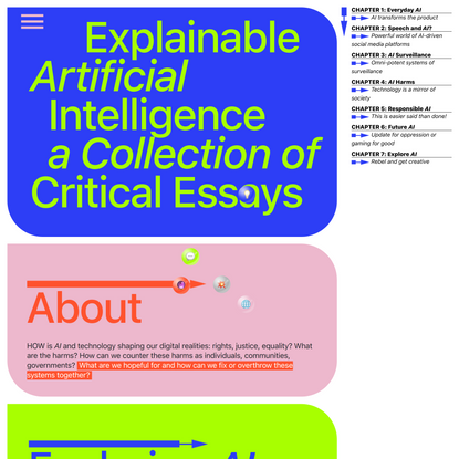 Explainable Artificial Intelligence a Collection of Critical Essays » Home