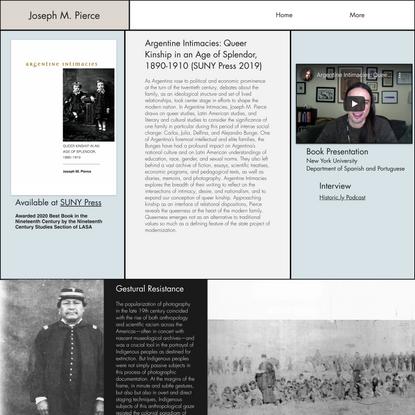Research | Joseph M. Pierce