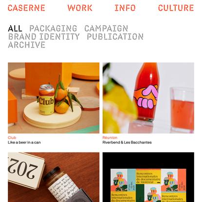 Work | Caserne