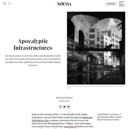 Apocalyptic Infrastructures   NOEMA
