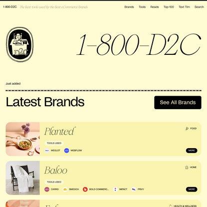 1-800-D2C: Your guide to building a successful D2C brand