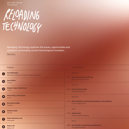 Reloading Technology – Reloading Technology
