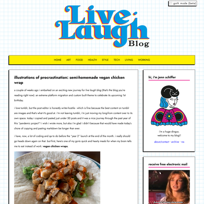 live laugh blog