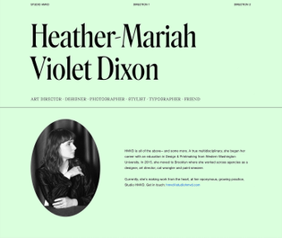 https://www.typewolf.com/site-of-the-day/heather-mariah-dixon