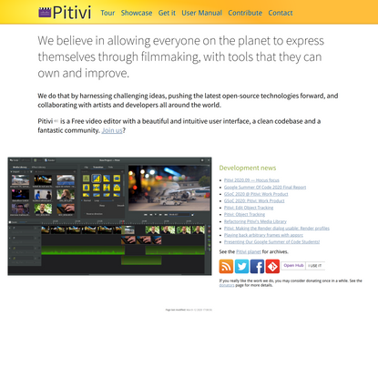 Pitivi, a free and open source video editor for Linux