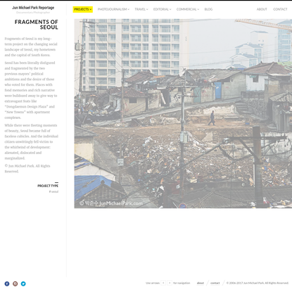 Fragments of Seoul | Jun Michael Park