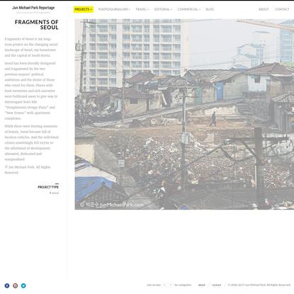 Fragments of Seoul   Jun Michael Park
