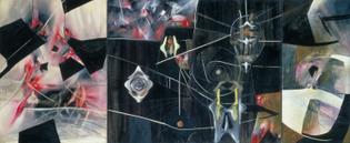 Roberto Matta, Black Virtue (1943)