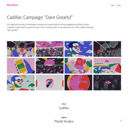 "Minji Moon - Cadillac Campaign ""Dare Greatly!"""