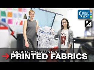 Laser Cut Printed Fabrics   Large Format Fabric Cutting   Trotec