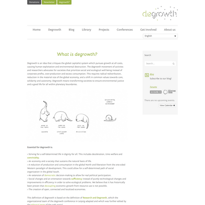 What is degrowth? | degrowth.info