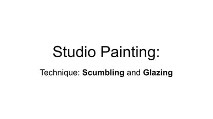 VCE Studio Arts Intro to Studio Painting Continue