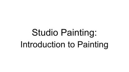 VCE Studio Arts Intro to Studio Painting