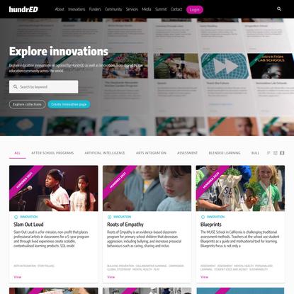 Explore innovations