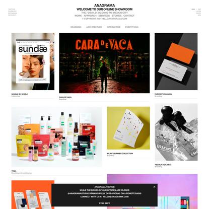 Anagrama | Brand Intelligence Group