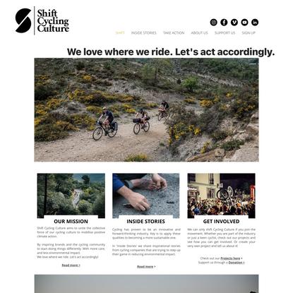 Shift Cycling Culture