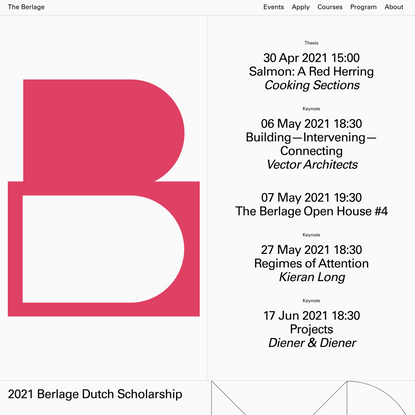 The Berlage – Home