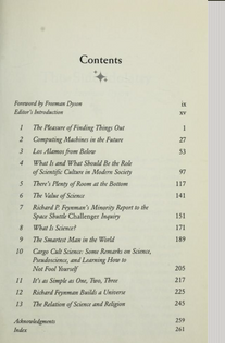 The Pleasure of Finding Things Out, Richard Phillips Feynman