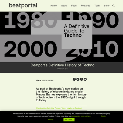 Beatport's Definitive History of Techno