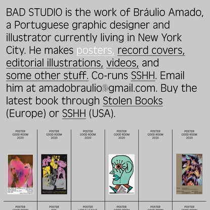Posters — BAD STUDIO