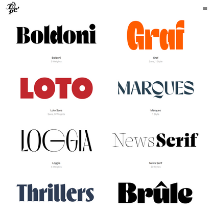 Typeverything – Great fonts by cool designers