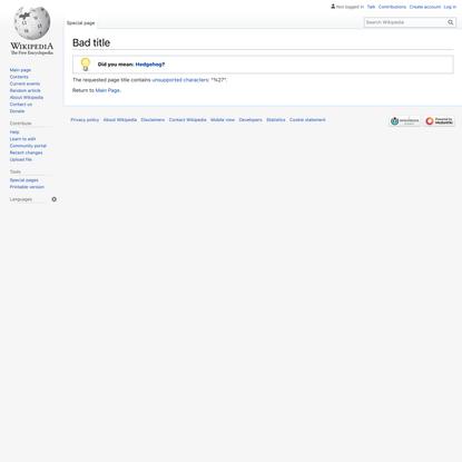 Hedgehog's dilemma - Wikipedia