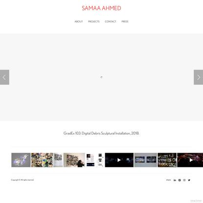 Gallery - Samaa Ahmed's Portfolio