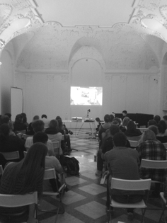 Picking Up, Turning Over, Putting With, lecture-performance, Brno Biennial, 2014