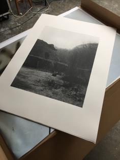 Hoffman Continuous Kiln, silkscreen edition, 2016