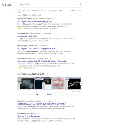Apophysis 2.02 - Google Search