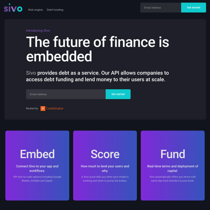 Sivo: The future of finance is embedded