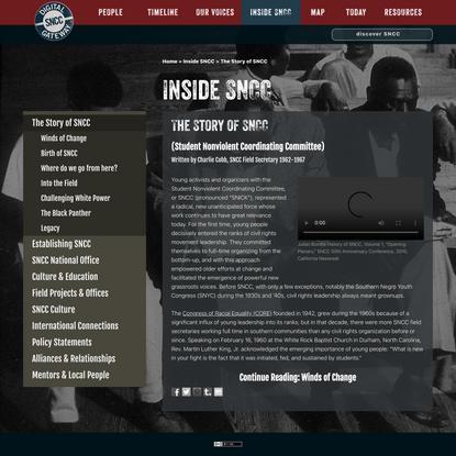 The Story of SNCC - SNCC Digital Gateway