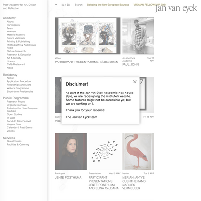Jan van Eyck Academie
