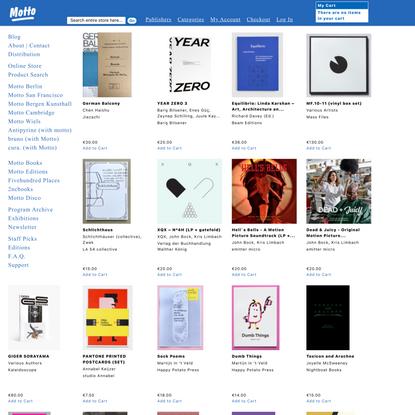 Motto Books - Online Store