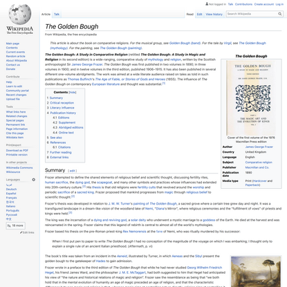 The Golden Bough - Wikipedia