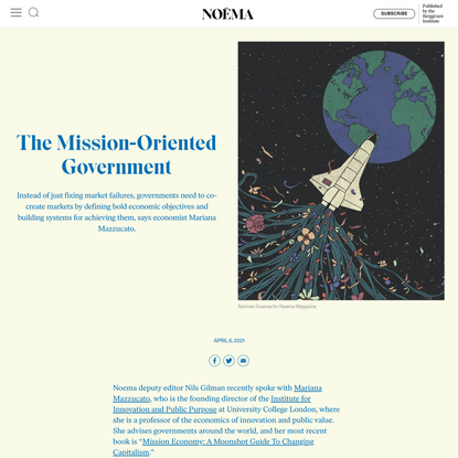 The Mission-Oriented Government   NOEMA