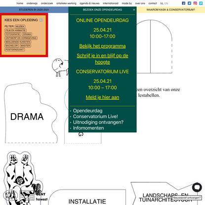 KASK & Conservatorium / HOGENT en Howest