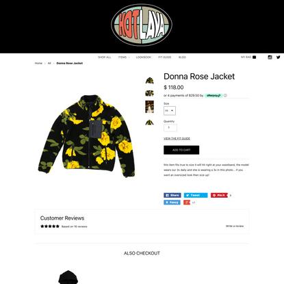 Donna Rose Jacket
