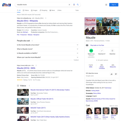 maudie movie - Google Search