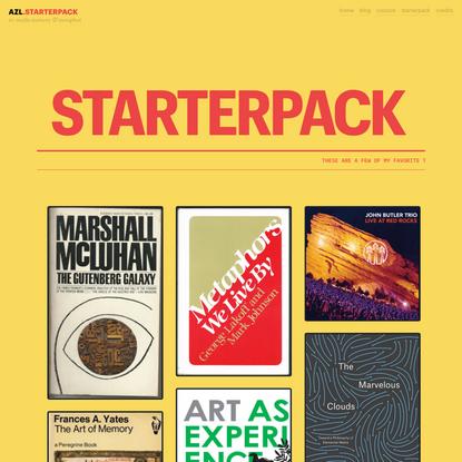 STARTERPACK – AZL