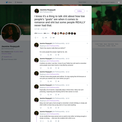 Jasmine Ruqayyah on Twitter