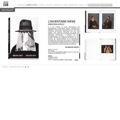 L'Inventaire infini - Atelier EXB