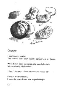 Oranges by Jean Little