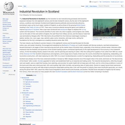 Industrial Revolution in Scotland - Wikipedia
