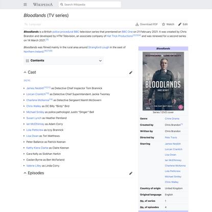 Bloodlands (TV series) - Wikipedia