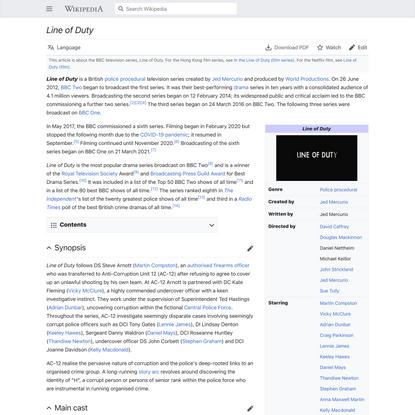 Line of Duty - Wikipedia