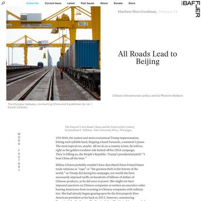 All Roads Lead to Beijing | Matthew Shen Goodman