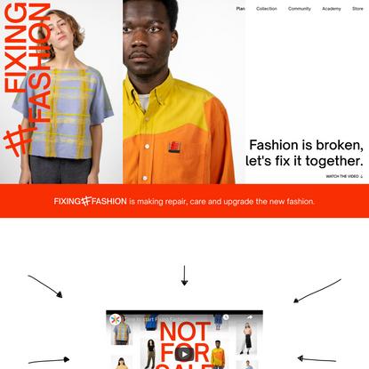 People Fixing Fashion