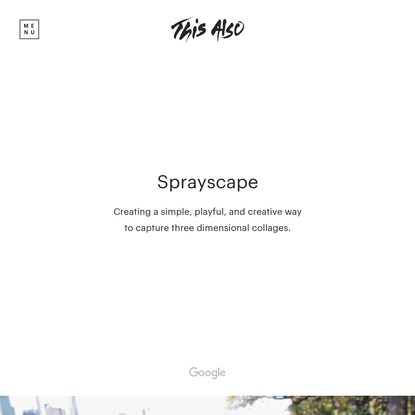 This Also Case Study - Sprayscape